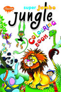 Super Jambo Jungle Colouring Book