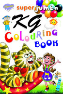 Super Jumbo KG Colouring Book