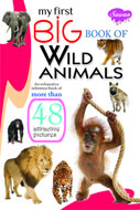 My First Big Book of WILD ANIMALS