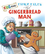 Kids Board Fairy Tales The Gingerbread Man