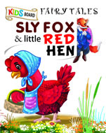 Kids Board Fairy Tales Sly Fox & Little Red Hen