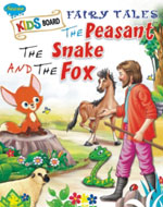 The peasent the Snake the fox