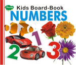 Kids Board Book Numbers