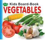 Kids Board Book vegetables