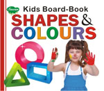 Kids Board Book Shapes & Colours