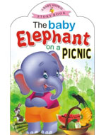 The baby Elephant on a Picnic