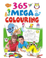 365 Mega Colouring