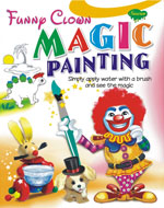 Funny Clown Magic Painting
