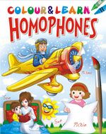 Colour & Learn Homophones