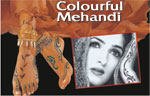 Colourful Mehandi Designs