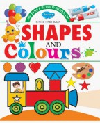 My First Board Book of  Shapes & Colours