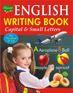 English Writing Book (Small and capital Letters)
