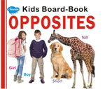 Kids Board Book Opposites