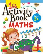 1st Activity Book Maths (Age 3+)