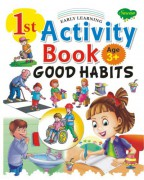 1st Activity Book Good Habits (Age 3+)