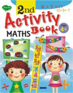 2nd Activity Book Maths (Age 4+)