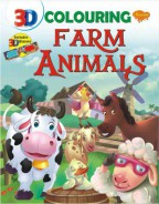 3D Colouring Farm Animals