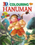 3D Colouring Hanuman