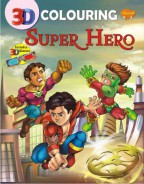 3D Colouring Super Hero