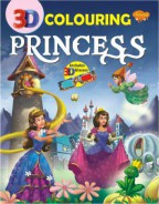 3D Colouring Princess