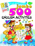 Fun & Learn Jumbo English 500 Activities