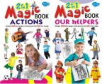 2 in 1 Magic Books Actions & Our Helpers