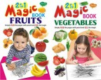 2 in 1 Magic Books Fruits & Vegetables