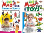 2 in 1 Magic Books Games and Sports & Toys