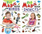 2 in 1 Magic Books Birds & Insects