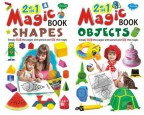 2 in 1 Magic Books Shapes & Objects