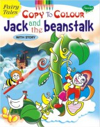 Fairy Tales Copy To Colour Jack and the Beanstalk