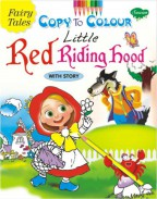 Fairy Tales Copy To Colour Little Red Riding Hood