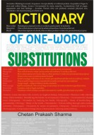 Dictionary of One Word Substitutions