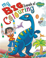 My Big Book of Colouring-II