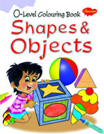 0 Level Colouring Book Shapes & Object
