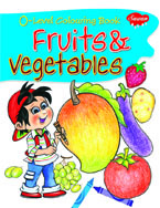 0 Level Colouring Book Fruits & Vege.