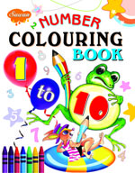 Number Colouring Book 1 to 10