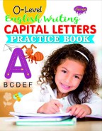 0-Level English Writing Capital Letters Practice Book