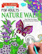 Colouring Book for Adults Nature Walk