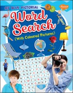My Blue Pictorial Word Search (with coloured Pictures)