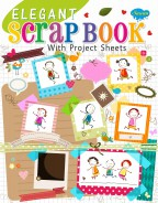 Elegant Scrap Book (With Project Sheet)