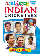 Indian Criketers (Chart Book)