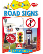 Cut & Paste Chart Book Road Sign