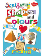 Cut & Paste Chart Book Shapes and Colours