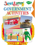 Cut & Paste Chart Book Government Activities