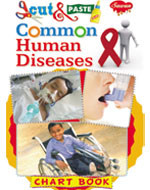 Cut & Paste Chart Book Common Human Diseases