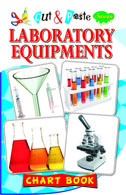 Cut & Paste Laboratory Equipments (Chart Book)
